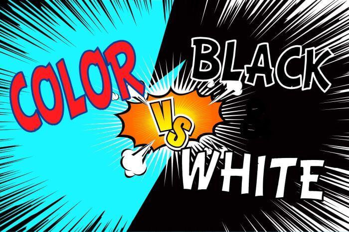 Black and White vs Color.  Which Would You Choose?