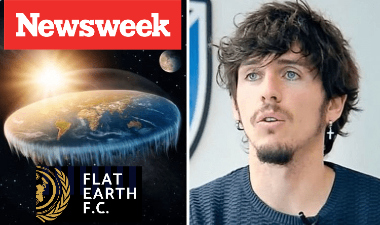 FLAT EARTH FC PRESIDENT TAKES ON THE DOUBTERS: 'IF THE EARTH IS SPHERICAL, WHY ARE SO MANY PEOPLE SCARED?'