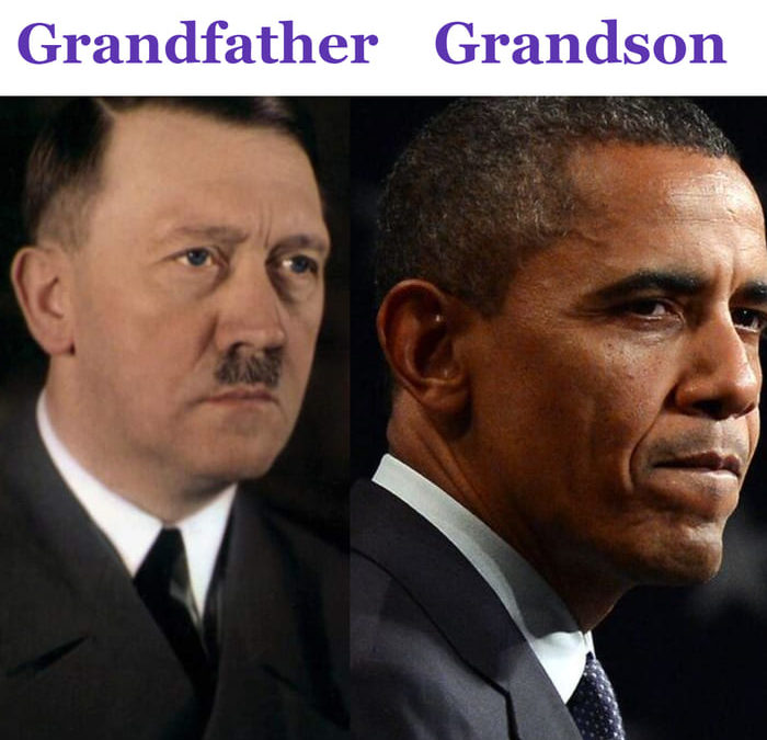 Obama Is The Grandson of Adolph Hitler