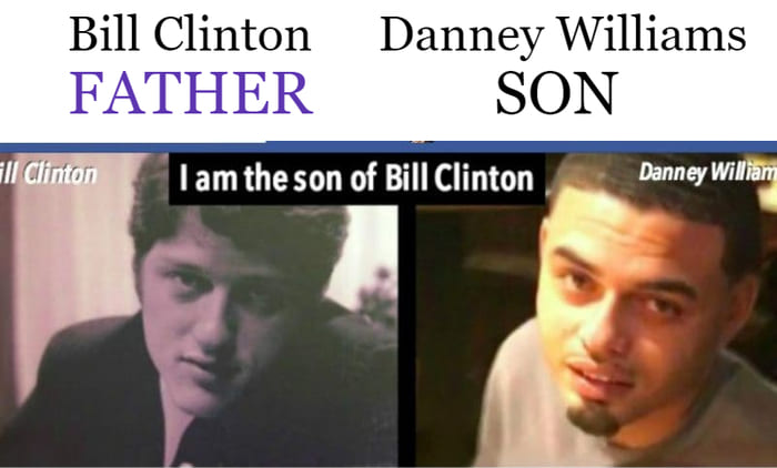 Bill Clinton's Son Danney Williams Is Not Treated Like Royalty