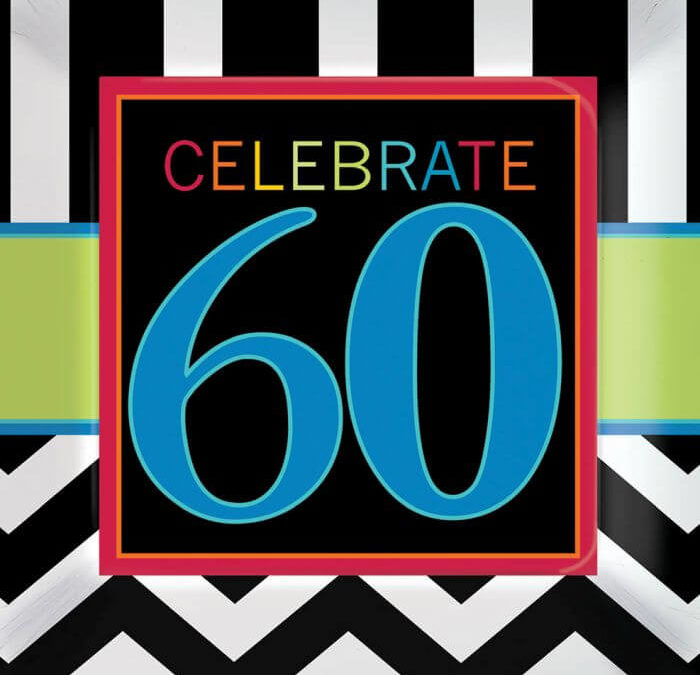 Turning 60, The Biggest Party In The World
