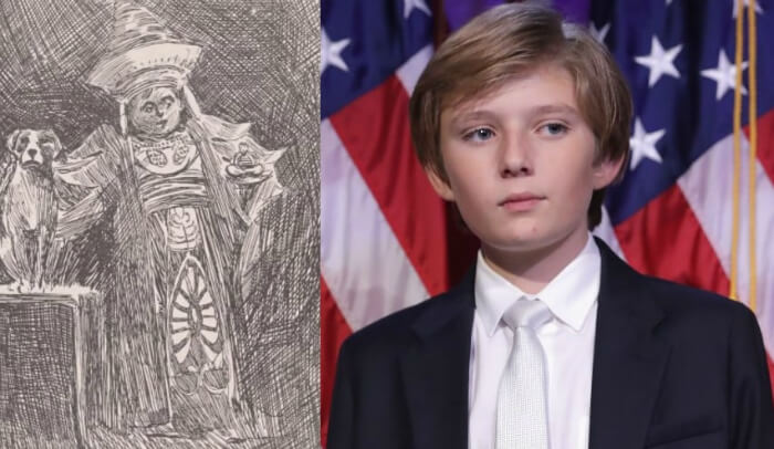 Have The Trump's Learned How To Time Travel?