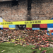 George Floyd Mural In Toledo Ohio Destroyed By A Lightning Strike